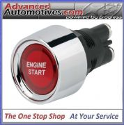Push Button Red LED Illuminated Starter Switch Engine Start 50amp 12v